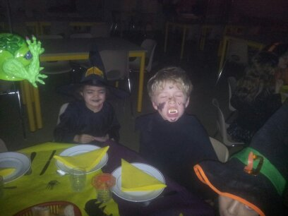La veillée halloween