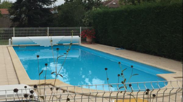 Couverture de piscine hors sol alain larrey - Couverture piscine hors sol toulouse ...