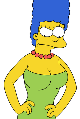 Marge simpson homer marge bart lisa maggie simpson - Marge simpson et bart ...