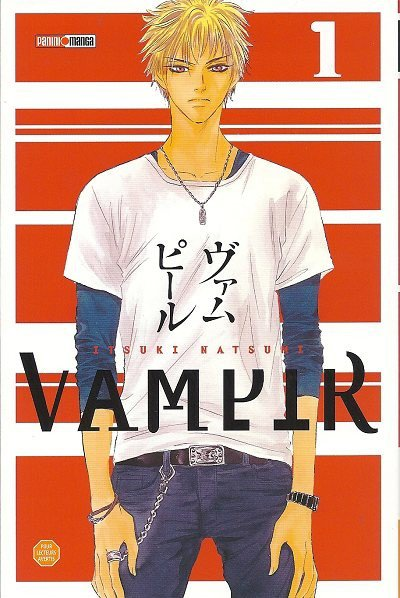 Vampir (non il n'y a de fautes d'orthographe le titre du manga s'écrit bien comme ça)