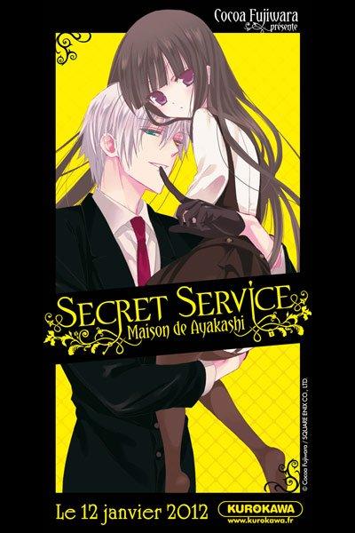 Secret service maison de Ayakashi