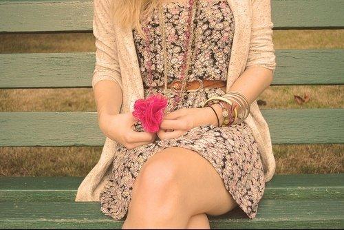 La robe *.......* j'adore !! <3