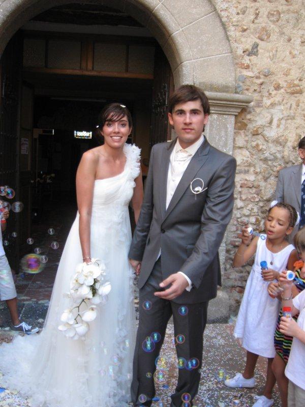 samedi 07 août 2010 : mariage de Romain et de Laetitia