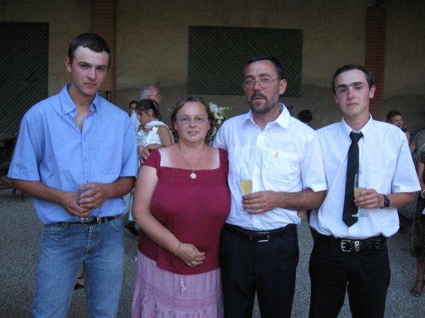 samedi 07 août 2010 : mariage de Romain et de Laeticia