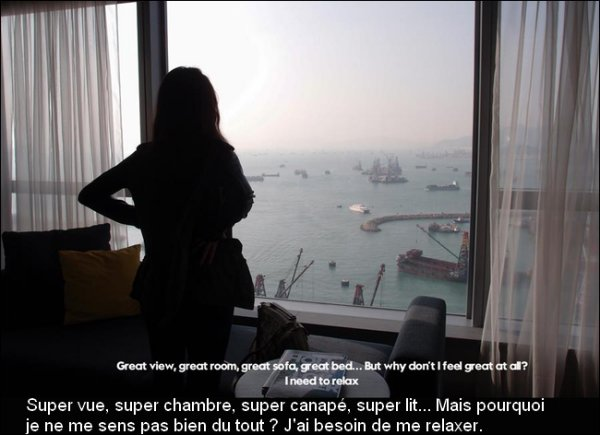 Le 16 Décembre 2012, Naomi présentait Modern/Love au W Hong Kong Hotel.