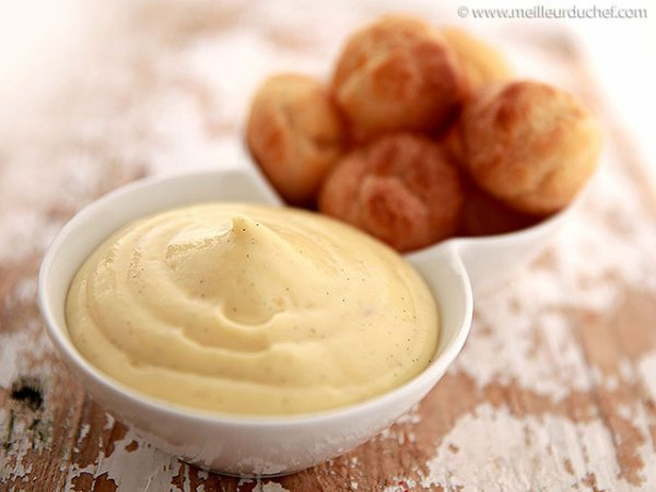 Crème pâtissière.