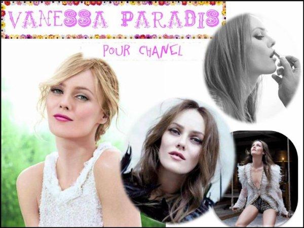 Vanessa Paradis : les premières photos pour le Rouge Coco Shine de Chanel sont enfin disponibles !!! N'est-elle pas belle notre Vanessa ? Admirez !