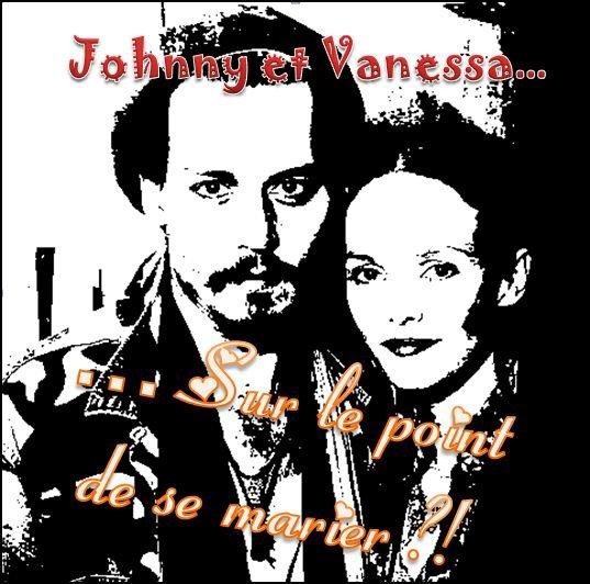 Johnny et Vanessa... Mariés cette année ?!