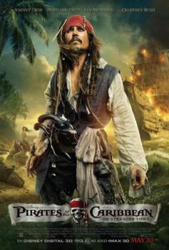 Nouveau poster Pirates des Caraïbes, La fontaine de Jouvence + Johnny déclare que sa fille a la même voix que sa mère !!!
