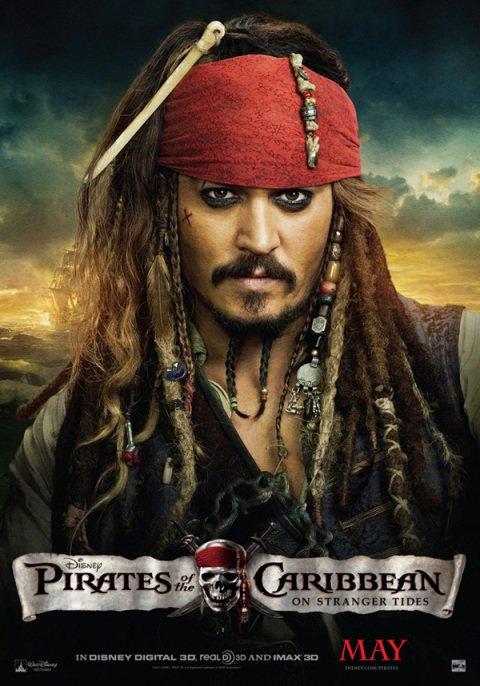 Encore une nouvelle affiche !!! 100 % Jack Sparrow !!!