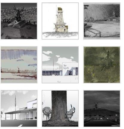 Les artworks pour Frankenweenie enfin dévoilés !!! & Edward fête ses vingt ans !