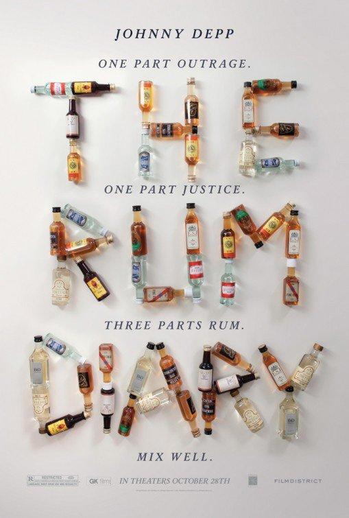 Rhum Diary : premier poster officiel !