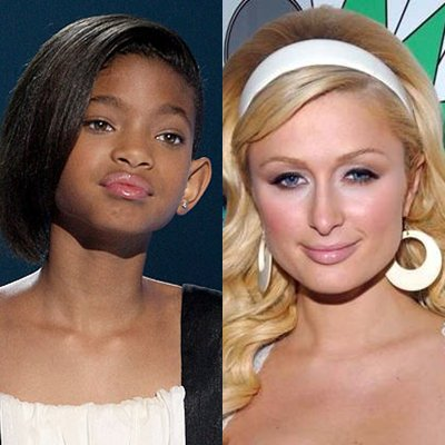 Paris Hilton adore WILLOW SMITH!