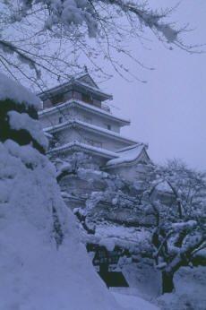 Le château d'Aizu-Wakamatsu
