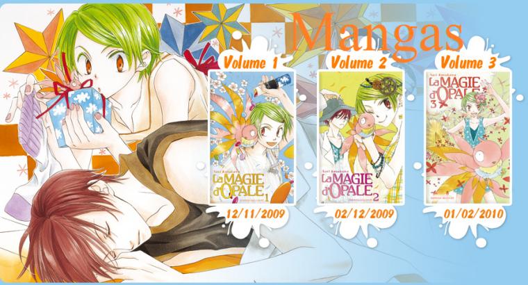 Sommaire animés/mangas