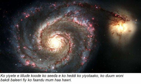 Ɓakdi ɓaleeri (matière noire)