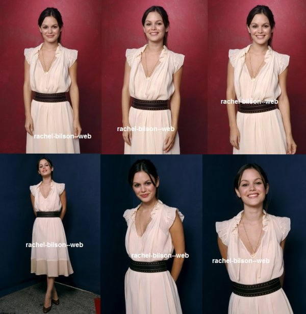 voici un photoshoot de rachel pour Teen Choice Awards portraits
