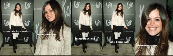 "le 13 janvier 2006 - rachel au Korn «See You de l'Autre Côté"" Launch Party Tour at Hollywood"