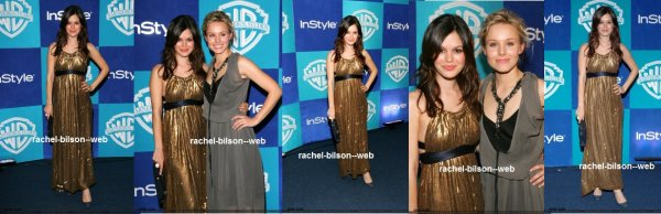 le 16 janvier 2006 - rachou aux InStyle et Warner Bros. 2006 Golden Globes After Party