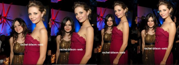 le 16 janvier 2006 - rachel au InStyle et Warner Bros. 2006 Golden Globes After Party - Inside
