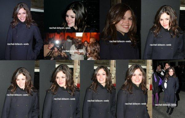 le 6 février 2006 - rachel au Olympus Fashion Week Automne 2006 - Marc Jacobs