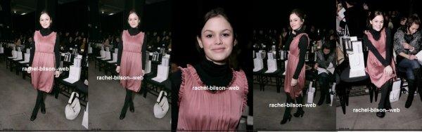 le 8 février 2006 - rachou au Olympus Fashion Week Automne 2006 - Derek Lamb