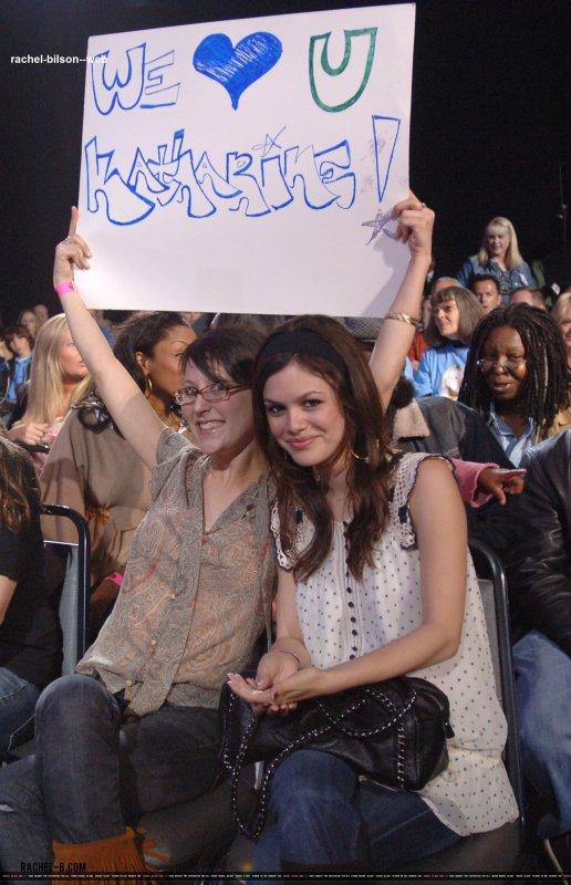 "le 4 avril 2006 - rachel au ""American Idol"" Saison 5 - Performance Show"