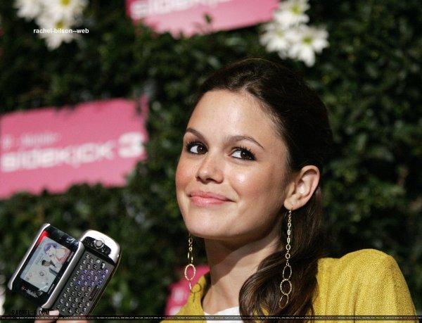 le 20 juin 2006 - rachel au Lancement de la T-Mobile Sidekick 3