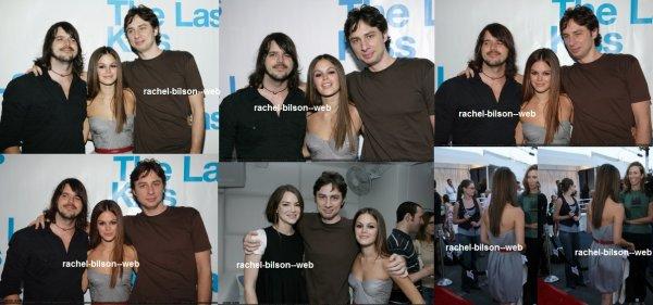 """le 6 aout 2006 - rachou au Écouter Parti pour """"The Last Kiss"""" de Paramount"""