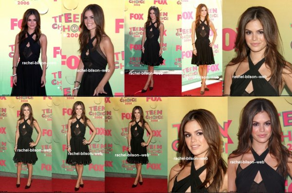 le 20 aout 2006 - rachel au 8e prix Teen Choice annuels