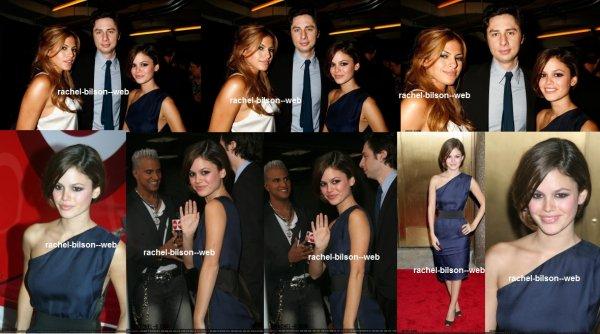 le 7 septembre 2006 - rachel a la Troisième Fashion Rocks Concert annuel du magazine Condé Nast Media Group