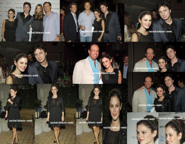 le 8 septembre 2006 - rachel au Cinema Society & DKNY Jeans hôte projection de The Last Kiss