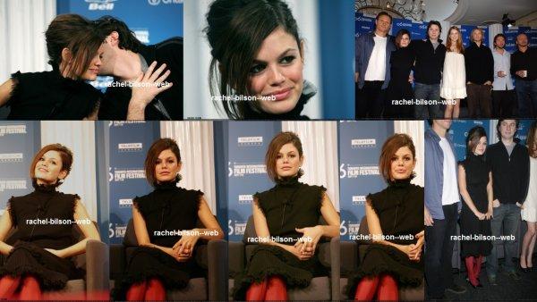 """le 10 septembre 2006 - rachel au """"The Last Kiss"""" TIFF Conférence de presse"""