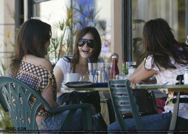 2006 : rachel déjeuner dans los angeles