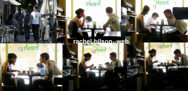 rachel et son petit amie new : 2006