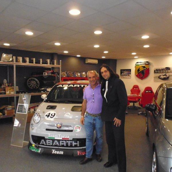 Nouveau pilote pour  Team Forza Championship Abarth 500