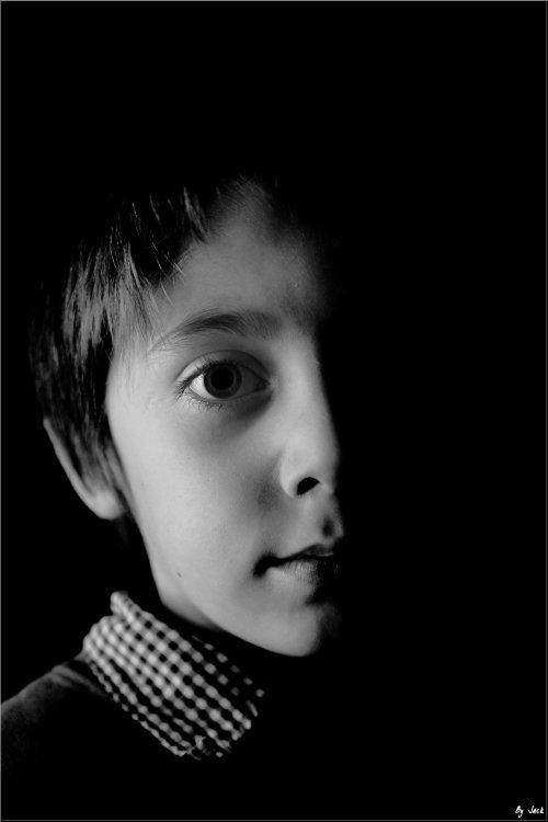 <= Enfin ma première photo portrait = p  =>