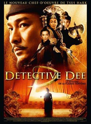 Détective Dee et le mystère de la flamme fantôme