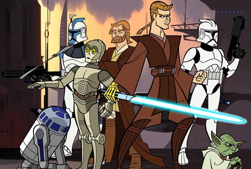 Star Wars : The Clone Wars 2003 (Série TV)
