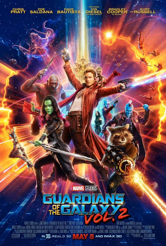 Les Gardiens de la Galaxie Volume 2
