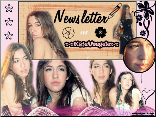 ♥  Kate Voegele - Newsletter  ♥
