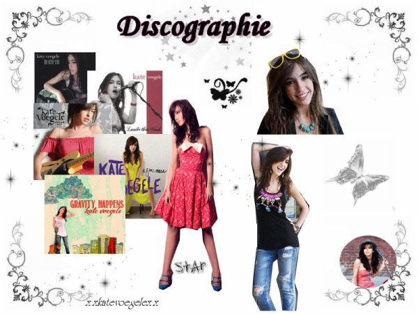 ♥  Kate Voegele - Discographie ♥