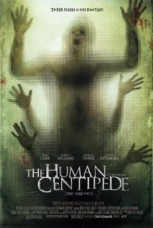 The human centipede.