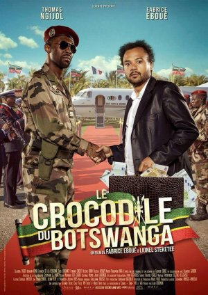 Le crocodile du Botswanga.
