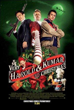 Le joyeux Noël d'Harold et Kumar.