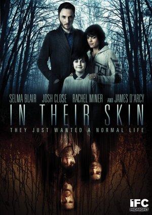 In their skin.