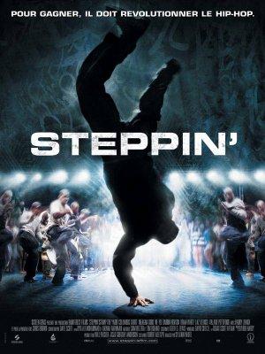 Steppin'.