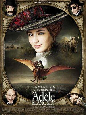 Les aventures extraordinaires d'Adèle Blanc-Sec.