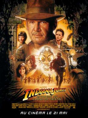 Indiana Jones et le royaume du crâne de cristal.