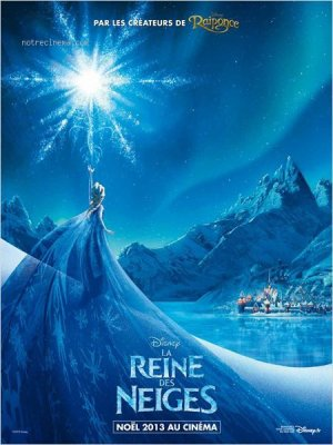 La reine des neiges.